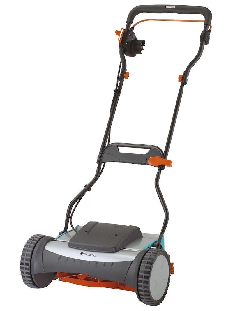 La tondeuse manuelle hybride électrique Gardena 380 EC